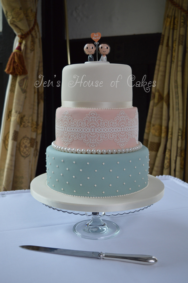 Wedding Cakes In Stockton By Jen S House Of Cakes Based In Ingleby